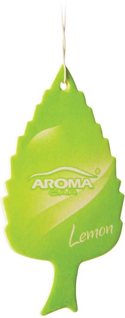 """Ароматизатор автомобильный Aroma Car """"Leaf Lemon"""", подвесной. AC92086"""