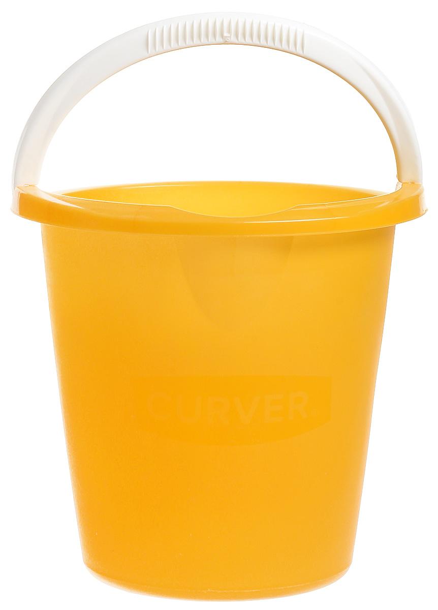 Ведро Curver, цвет: ярко-желтый, 10 л1301_миксВедро Curver выполнено из прочного пластика. Изделие снабжено небольшим носиком и удобнойрельефной ручкой. Такое ведро пригодится в любом хозяйстве, оно отлично подойдет для мытьяполов или хранения мусора.