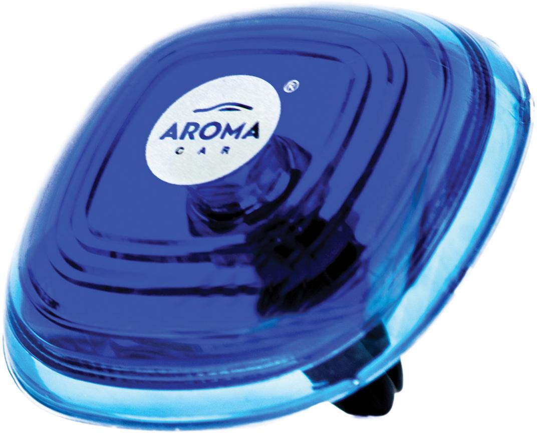 Ароматизатор автомобильный Aroma Car Loop Gel Aqua, на дефлектор. AC6311463114Ароматизатор на дефлектор. Дизайн лаконичный и оригинальный. Состав: гелевый полимер, парфюмерная композиция, эфирные масла. Использованы натуральные французские отдушки. Упаковка: блистер