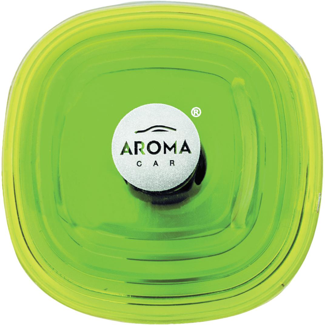 Ароматизатор автомобильный Aroma Car Loop Gel Lemon, на дефлектор. AC6311663116Ароматизатор на дефлектор порадует вас фантастическим запахом.Ароматизатор применяется в автомобиляхАроматизатор хорошо нейтрализует неприятные запах, придает воздуху свежесть.Дизайн ароматизатора красивый, цвет - яркий.Состав: гелевый полимер, парфюмерная композиция, эфирные масла. В составе используются натуральные французские отдушки.