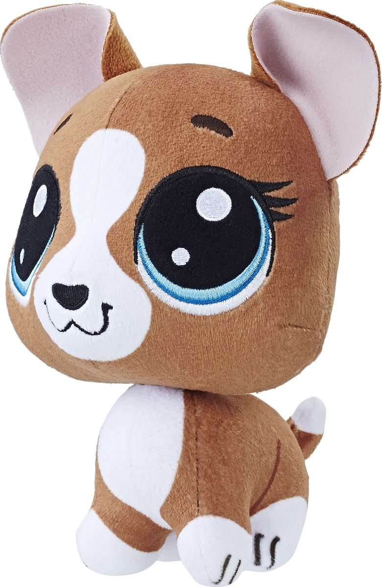 Littlest Pet Shop Мягкая игрушка Roxie Mcterrier 19 см