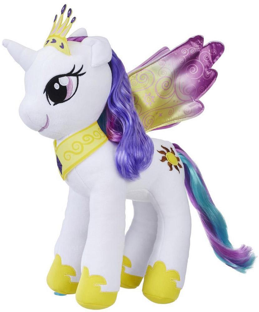 My Little Pony Мягкая игрушка Пони Принцесса Селестия 30 см мульти пульти мягкая игрушка принцесса луна 18 см со звуком my little pony мульти пульти