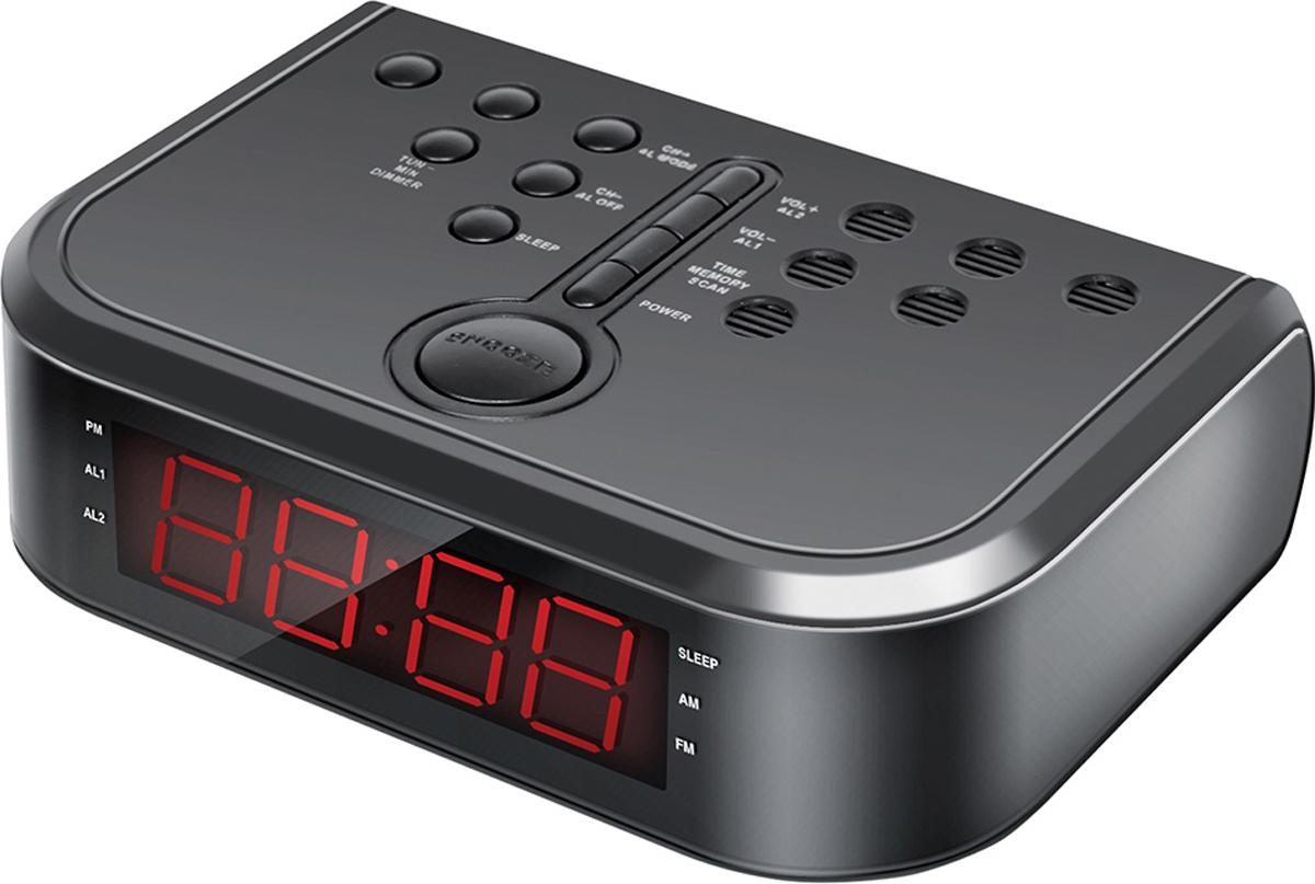 Hyundai H-RCL120 радио-будильник hyundai h rcl120 радио будильник