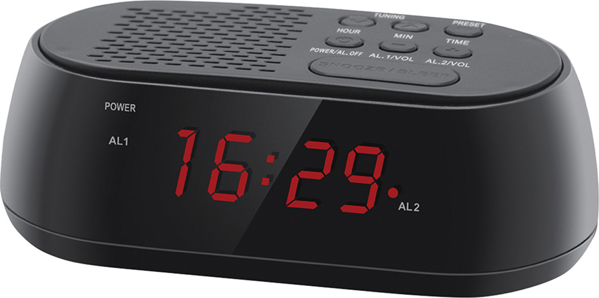 Hyundai H-RCL210 радио-будильник hyundai h rcl120 радио будильник