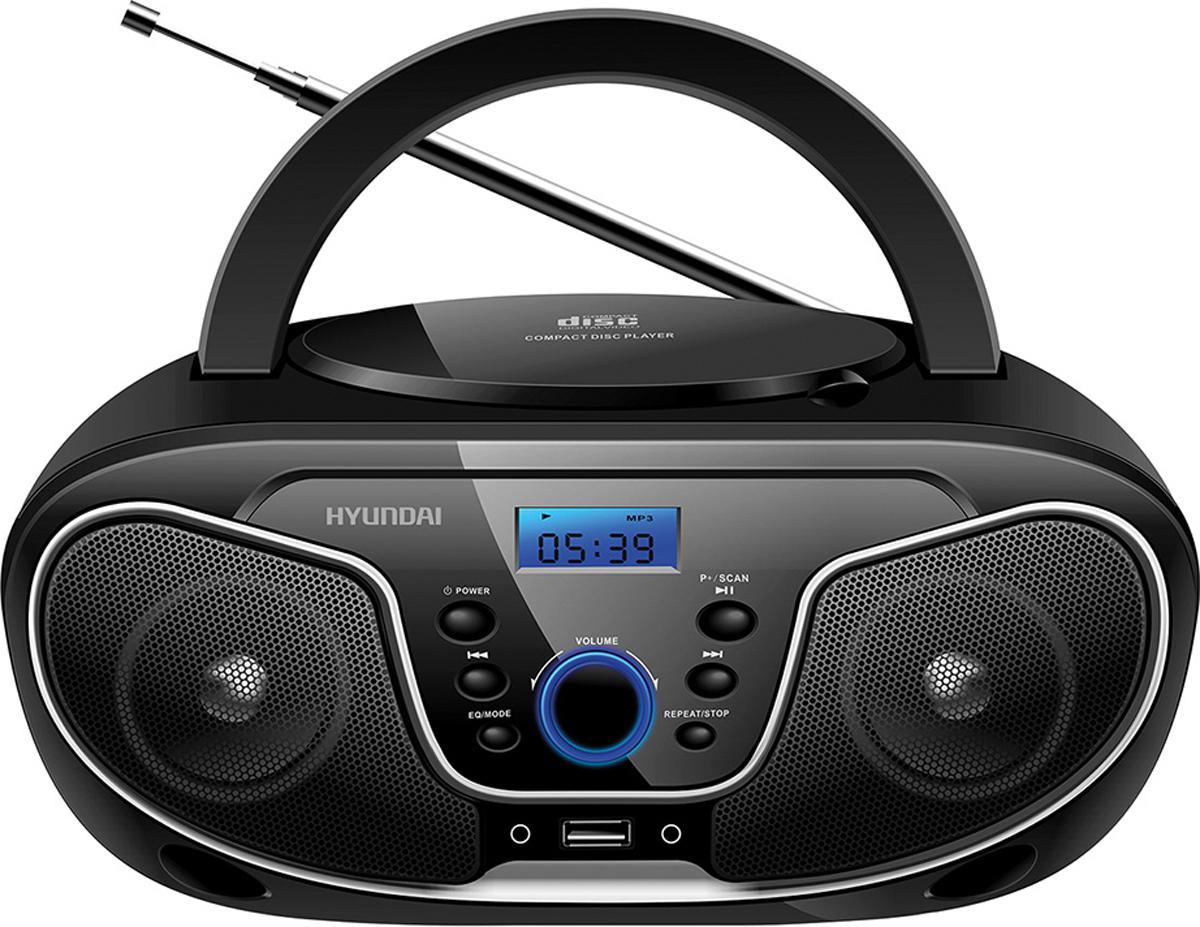 Hyundai H-PCD140, Black Grey магнитола - Магнитолы, радиоприемники