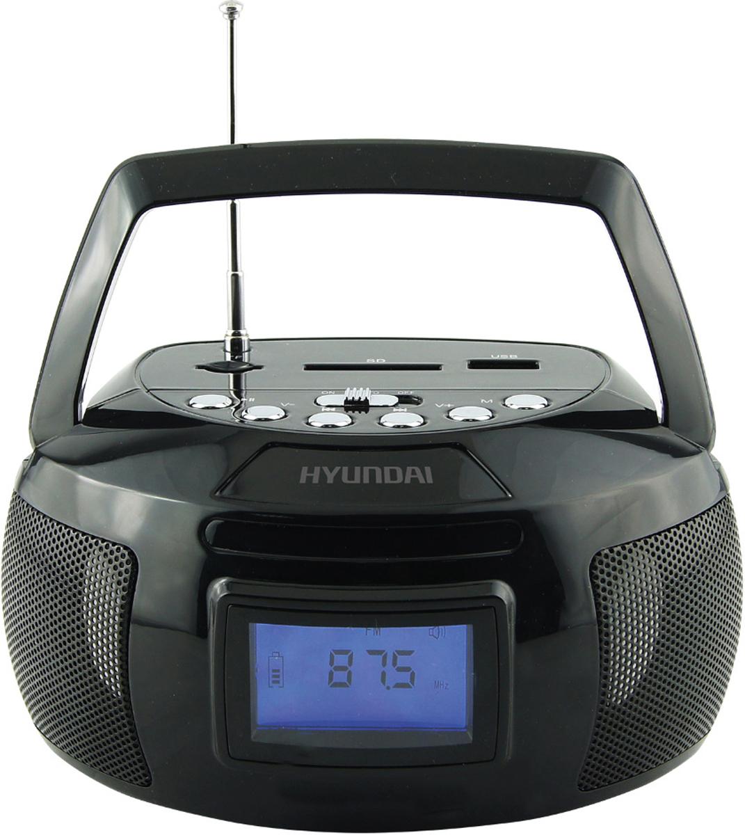 Hyundai H-PAS140, Black магнитола - Магнитолы, радиоприемники