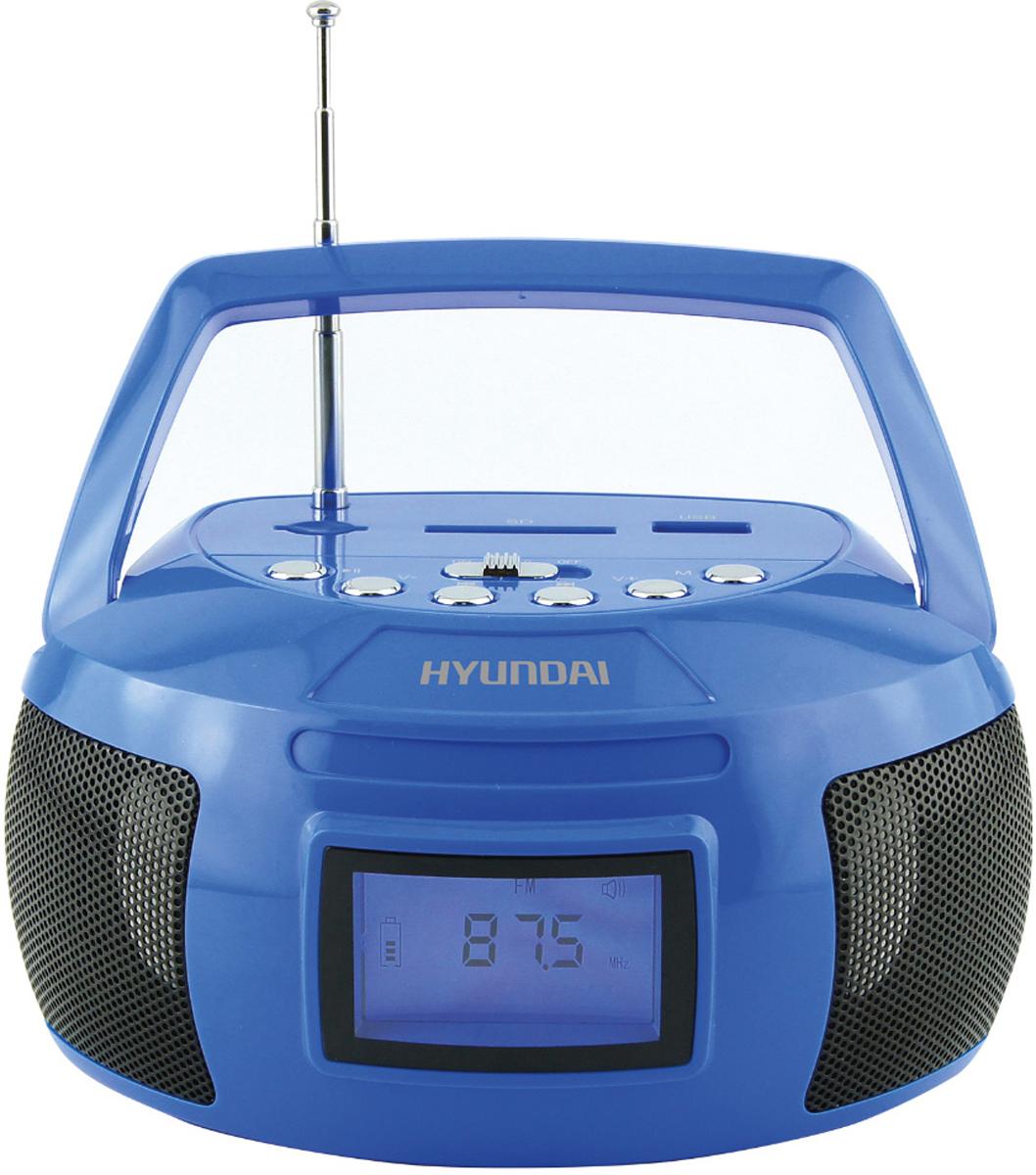Hyundai H-PAS160, Blue магнитола сплит система hyundai h ar21 07h