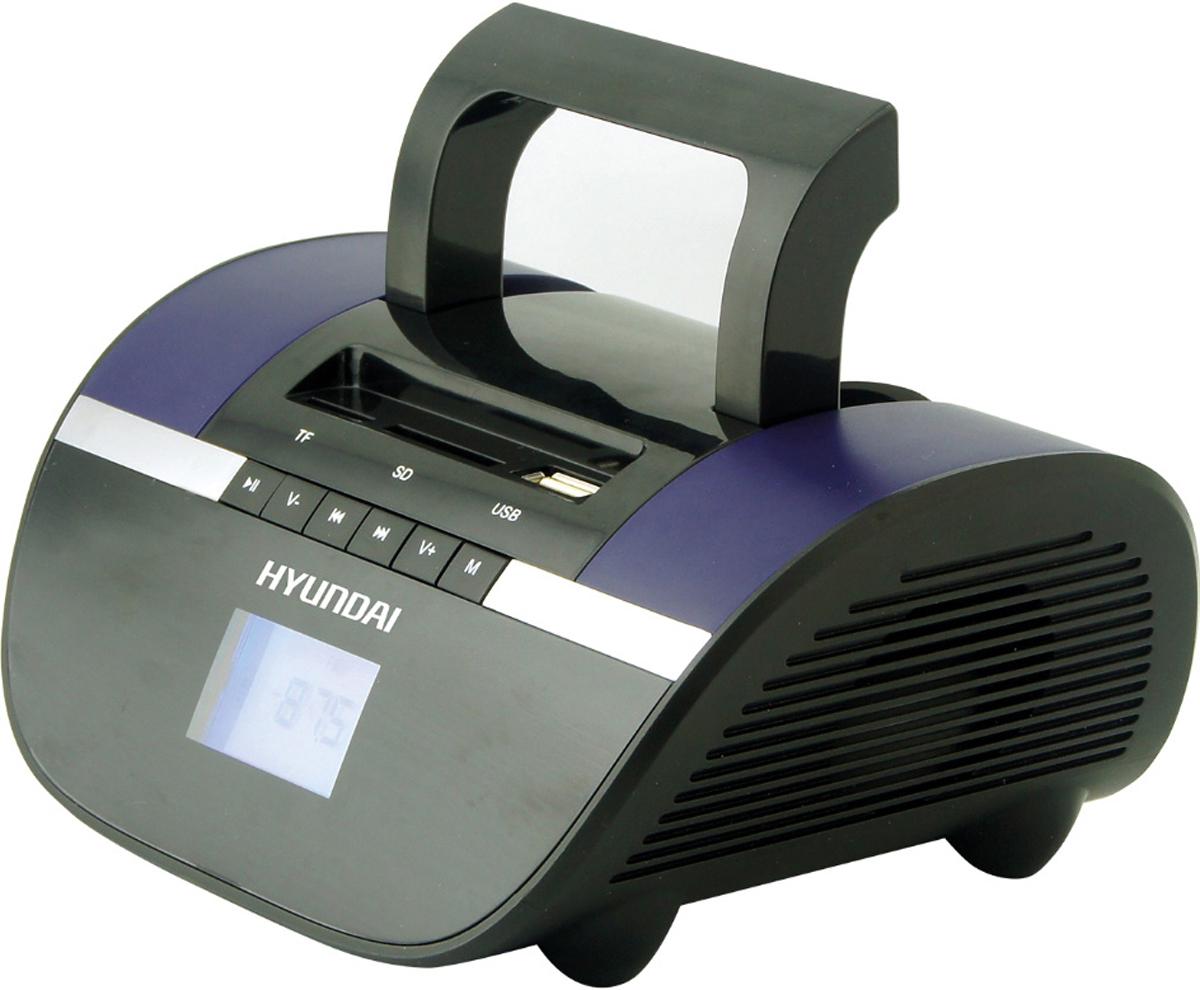 Hyundai H-PAS220, Black Blue магнитола - Магнитолы, радиоприемники