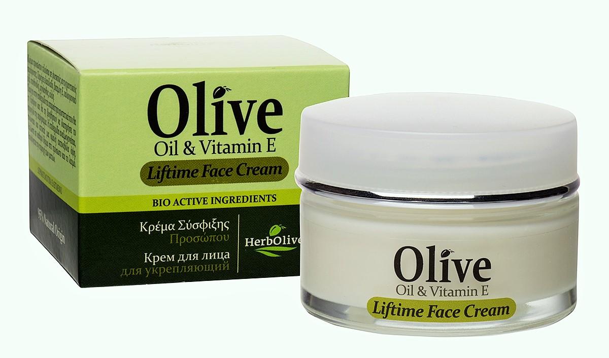 HerbOlive Крем для лица укрепляющий против дряблой кожи 50мл