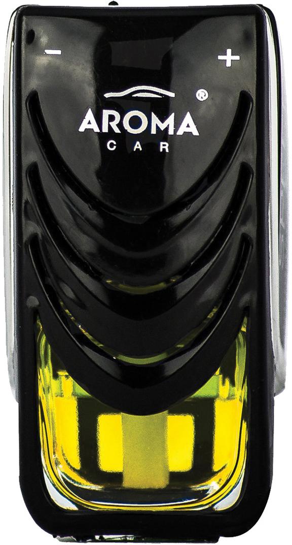 Ароматизатор автомобильный Aroma Car Speed Vanilla, на дефлектор. AC9231892318Ароматизатор для установки на дефлектор на жидкостной основе (7 мл)Насыщенный и долгоиграющий аромат. Использованы натуральные французские отдушки. Упаковка: двойной блистер