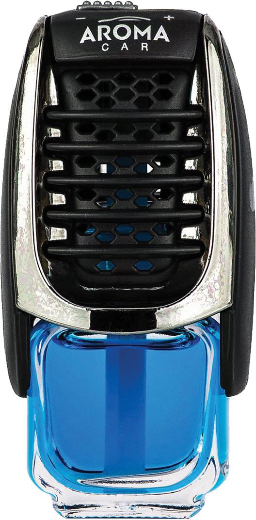 Ароматизатор автомобильный Aroma Car Supreme New Car, на дефлектор. AC9204892048Ароматизатор для установки на дефлектор на жидкостной основе (7 мл)Серия Supreme - отлчно сочетает в себе элегантность и функциональностьПодходит одновременно для уставноки вертикальных и горизонтальных дефлекторах. Использованы натуральные французские отдушки. Упаковка: двойной блистер