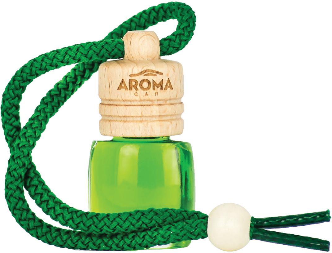 """Ароматизатор автомобильный Aroma Car """"Wood Green Tea"""", подвесной. AC63119"""