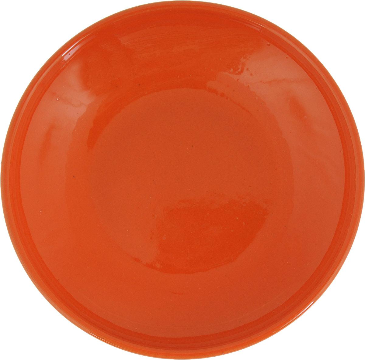 Блюдце Борисовская керамика Радуга, цвет: оранжевый, диаметр 10 смРАД14458109_оранжевыйБлюдце Борисовская керамика Радуга, изготовленное из высококачественной керамики, предназначено для красивой подачи различных блюд. Такое блюдце украсит сервировку стола и подчеркнет прекрасный вкус хозяйки. Можно мыть в посудомоечной машине и использовать в микроволновой печи.