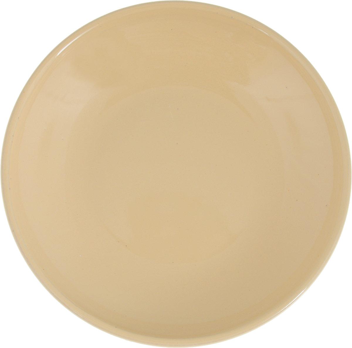Блюдце Борисовская керамика Радуга, цвет: бежевый, диаметр 10 смРАД14458109_бежевыйБлюдце Борисовская керамика Радуга, изготовленное из высококачественной керамики, предназначено для красивой подачи различных блюд. Такое блюдце украсит сервировку стола и подчеркнет прекрасный вкус хозяйки. Можно мыть в посудомоечной машине и использовать в микроволновой печи.