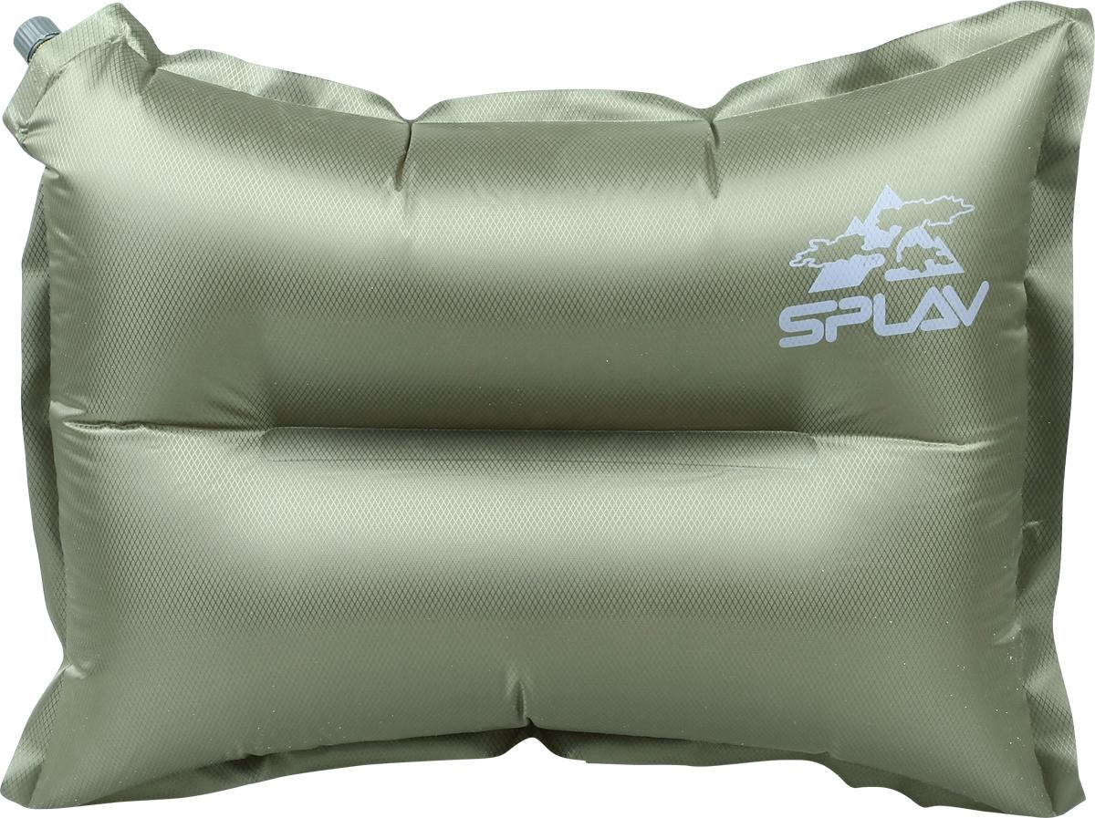 Подушка для туризма  Сплав , самонадувная, цвет: оливковый. 5105541 - Подушки