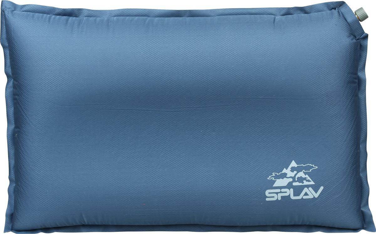Подушка для туризма  Сплав , самонадувная, цвет: синий. 5109960 - Подушки