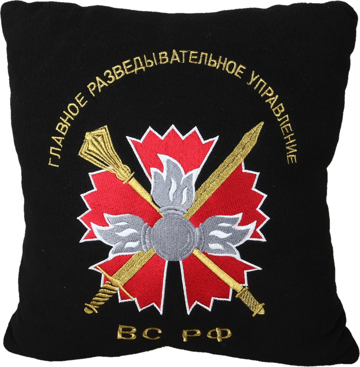 Подушка для туризма Сплав  ГРУ ВС РФ , цвет: черный. 6072023 - Подушки