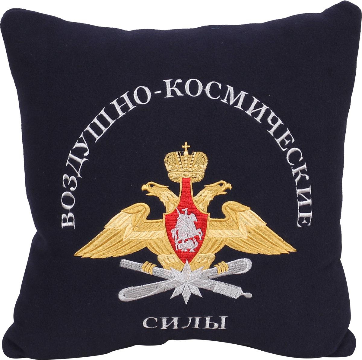 """Подушка для туризма Сплав """"Воздушно-космические силы"""", цвет: черный. 6076833"""