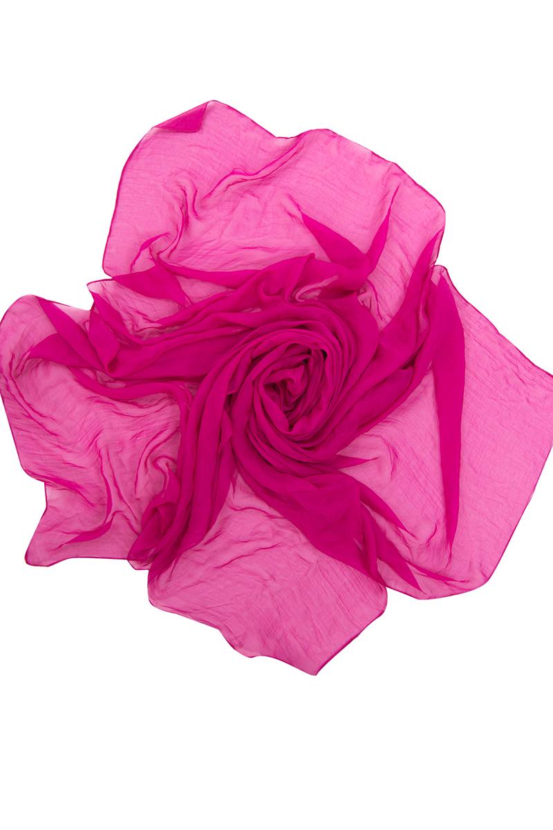 Парео женское Charmante, цвет: фуксия. WAZ 331801. Размер универсальныйWAZ 331801Невесомое парео из прозрачной шелковистой ткани. Аксессуар прекрасно защищает от солнца, скрывает несовершенства кожи и фигуры и прекрасно сочетается с купальниками Сharmante.