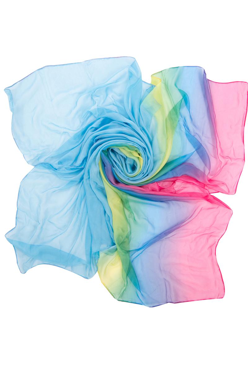 Парео женское Charmante, цвет: голубой, желтый, синий. WAZ 331804. Размер универсальный парео charmante парео