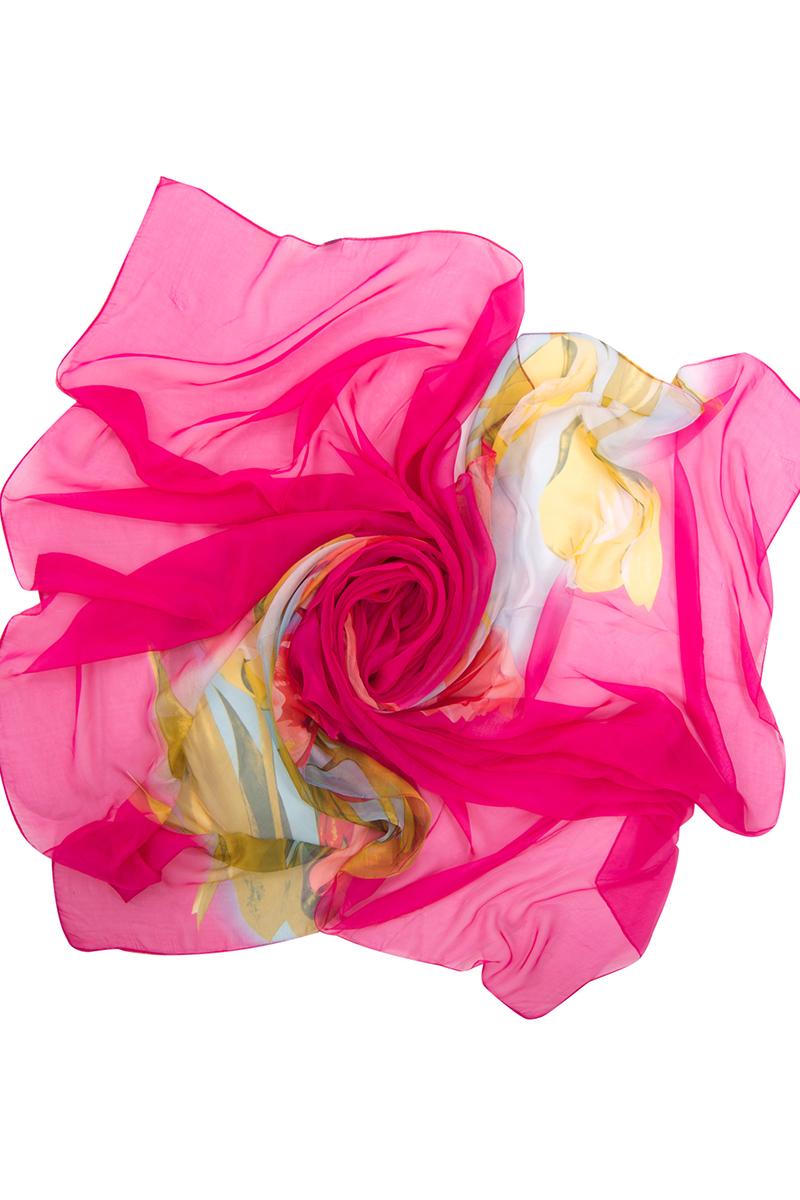 Парео женское Charmante, цвет: фуксия . WAZ 331811. Размер универсальныйWAZ 331811Невесомое парео от Charmante выполнено из прозрачной шелковистой ткани. Аксессуар прекрасно защищает от солнца, скрывает несовершенства кожи и фигуры и прекрасно сочетается с купальниками Сharmante.