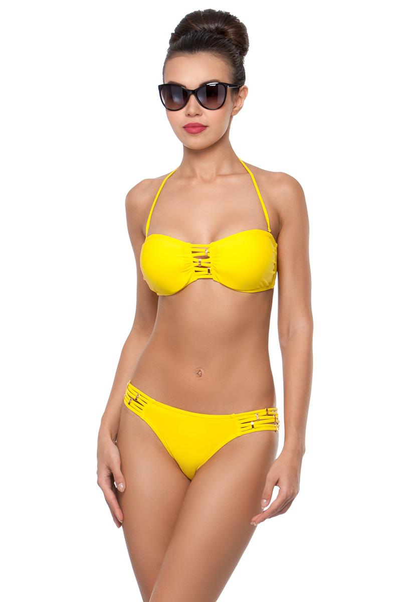 Купить Купальник раздельный женский Charmante, цвет: желтый. WBP 291801. Размер 36 (42)