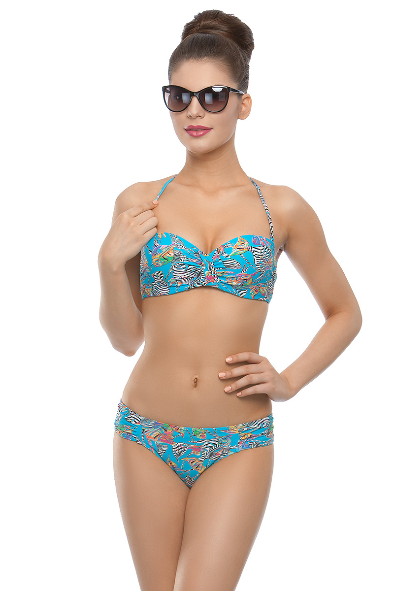 Купить Купальник раздельный женский Charmante, цвет: голубой. WDB 011804. Размер 38 (44)