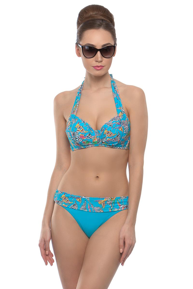 Купальник раздельный женский Charmante, цвет: голубой. WDH (XL) 011805. Размер 42 (48)  - купить со скидкой