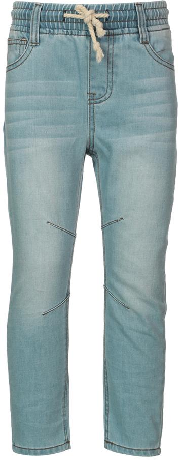 Джинсы детские Oldos Алекс, цвет: голубой. 6O8JN04-2. Размер 122, 7 лет6O8JN04-2Стильные джинсы OLDOS изготовлены из хлопка. Модель без гульфика дополнена на поясе резинкой. По талии джинсы регулируются дополнительным шнурком, также имеются шлевки для ремня. Модель спереди дополнена двумя карманами и одним маленьким кармашком, а сзади - двумя накладными карманами. Джинсы оформлены контрастной прострочкой.