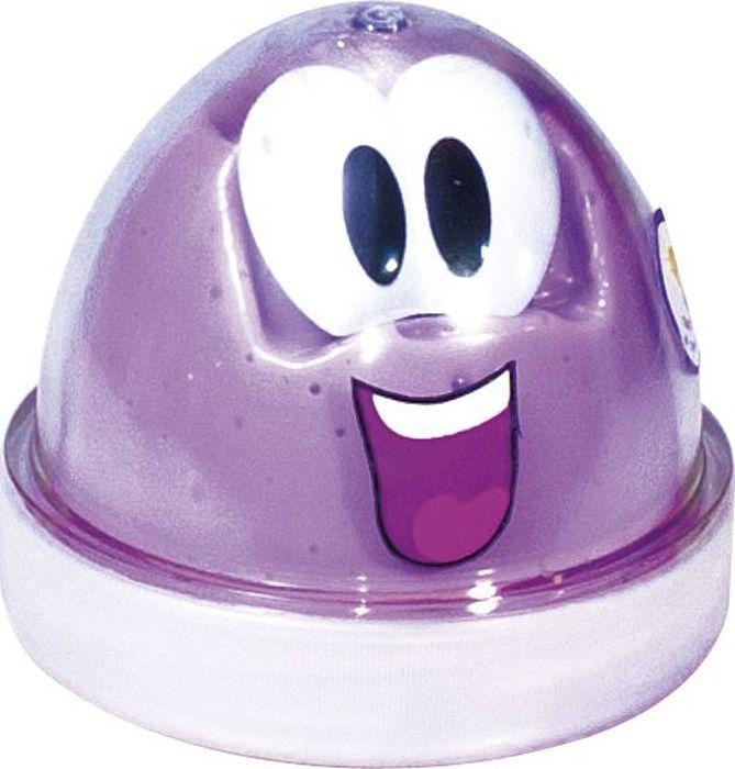 Genio Kids Пластилин для детской лепки Smart Gum светящийся в темноте цвет сиреневыйHG03Пластилин для детской лепки Smart Gum обладает необычными свойствами: масса одновременно жидкая и твердая, упругая и пластичная, податливая и хрупкая, светится в темноте. В комплекте:массапластиковые глазки.