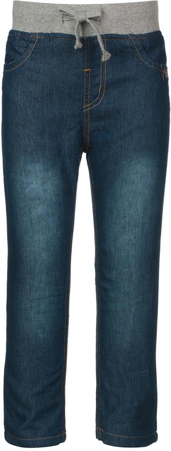 Джинсы детские Oldos Брандо, цвет: темно-синий. 6O8JN01. Размер 86, 1,5 года6O8JN01Стильные джинсы OLDOS изготовлены из хлопка с добавлением полиэстера. Модель имеет ворсистую подкладку из хлопка. Пояс из трикотажного полотна с внутренней резинкой дополнен утягивающим шнурком. Модель спереди дополнена двумя карманами, а сзади - двумя накладными карманами с клапанами. Джинсы оформлены контрастной прострочкой.