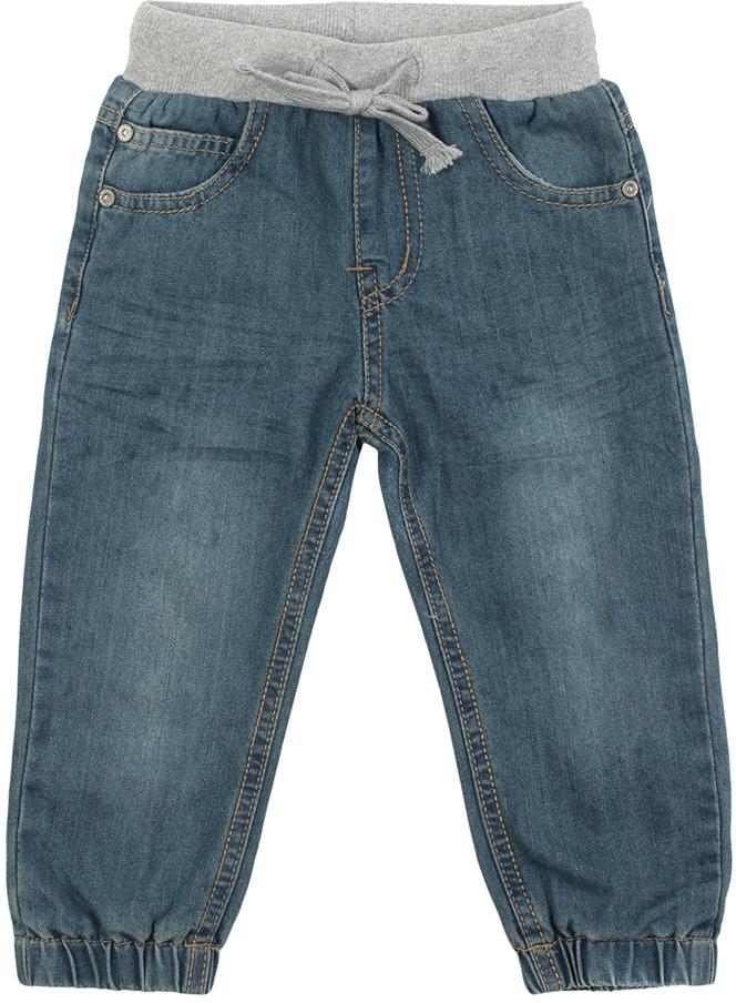 Джинсы детские Oldos Дин, цвет: синий. 6O8JN02. Размер 104, 4 года6O8JN02Стильные джинсы OLDOS изготовлены из хлопка с добавлением полиэстера. Модель имеет ворсистую подкладку из хлопка. Пояс из трикотажного полотна с внутренней резинкой дополнен утягивающим шнурком. Модель спереди дополнена двумя карманами и одним маленьким кармашком, а сзади - двумя накладными карманами. Низ брючин дополнен резинкой. Джинсы оформлены контрастной прострочкой и на заднем кармане фирменной нашивкой.