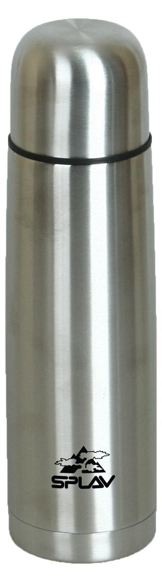 Термос Сплав, цвет: серый металлик, 0,5 л. SB-500 дозатор напитков balvi liquor l hedoniste цвет серый металлик