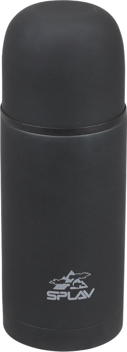 Термос Сплав, цвет: черный, 1 л. SBM-10005078340Небьющийся термос для напитков с двойными стенками и вакуумной изоляцией. Резьбовая крышка со специальным желобом, позволяющая выливать содержимое, не отвинчивая крышку полностью. Крышка-чашка. Лёгкий и удобный в переноске.