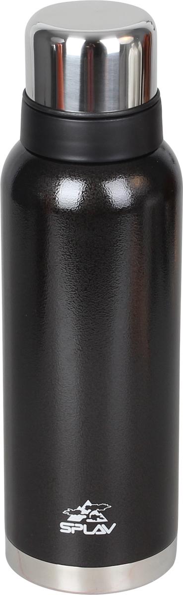 Термос Сплав, цвет: темно-серый, 1,2 л. SF-12005083540Небьющийся термос для напитков с двойными стенками и вакуумной изоляцией выполнен из нержавеющей стали. Резьбовая крышка-клапан со специальным желобом, позволяет выливать содержимое, не отвинчивая крышку полностью. Поверх основной крышки накручивается крышка-чашка, что позволяет использовать её, не открывая термос. Лёгкий и удобный в переноске.