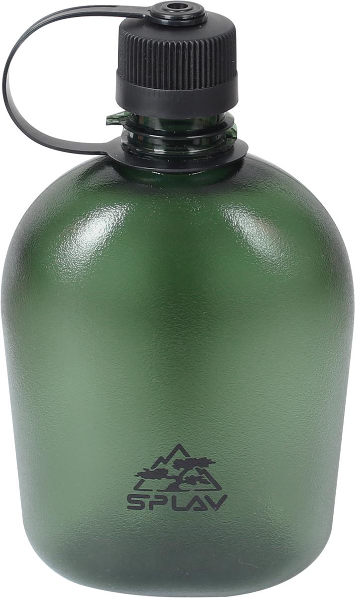 Фляга Сплав, цвет: темно-зеленый, 1 л. TR M-10005083751Фляга Сплав изготовлена из тритана. Сбоку на горловине фляги имеется выступ, за который можно зафиксировать мешающуюся при питье крышку . Для переноски рекомендуем приобрести подсумок.