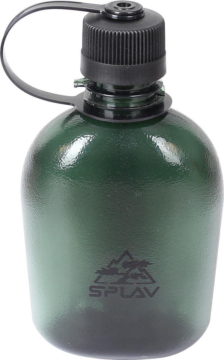 Фляга Сплав, цвет: темно-зеленый, 0,5 л. TR M-5005083755Фляга Сплав выполнена из тритана. Сбоку на горловине фляги имеется выступ, за который можно зафиксировать мешающуюся при питье крышку . Для переноски рекомендуем приобрести подсумок утилитарный на молнии.