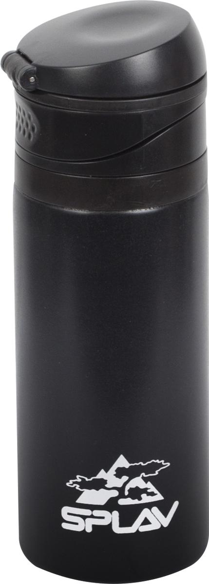 Термофляга Сплав, цвет: черный, 0,4 л. SV-400 тележка для фляги в твери