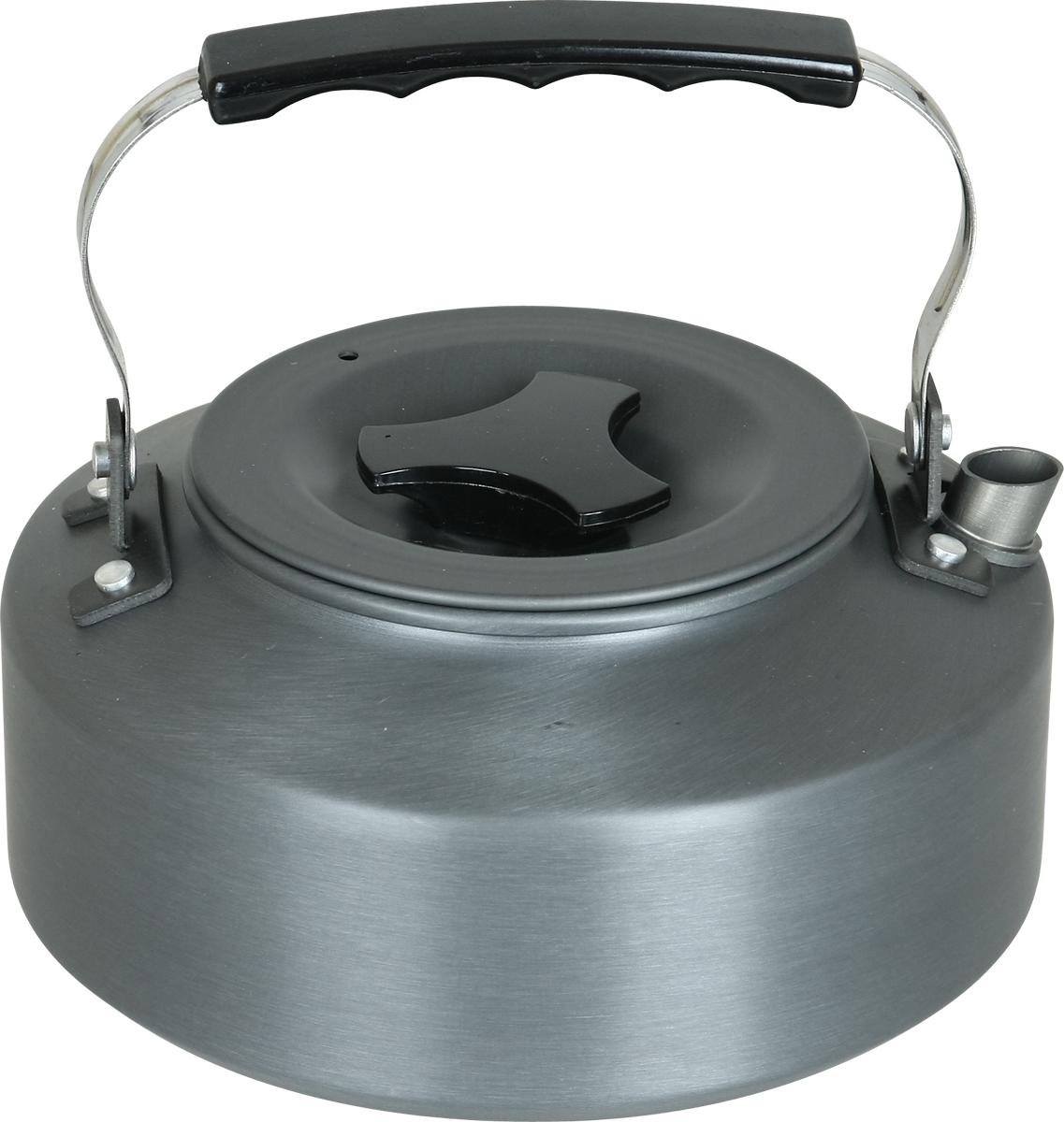 Чайник туристический Сплав, цвет: серый, 1,1 л
