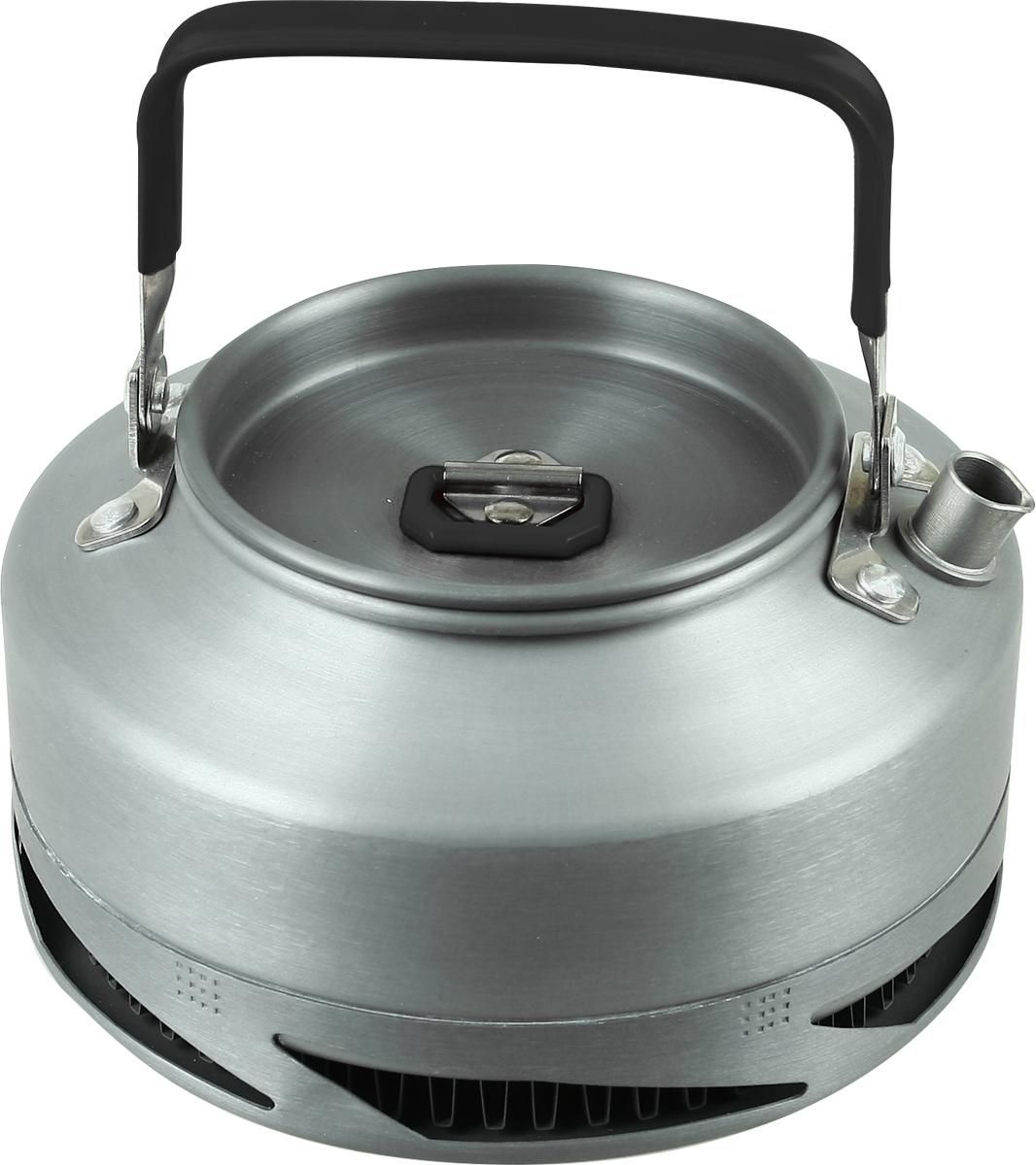 Чайник туристический Сплав Power, цвет: серый, 0,9 л