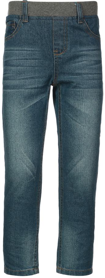 Джинсы детские Oldos Фиеста, цвет: темно-синий. 6O8JN06. Размер 122, 7 лет6O8JN06Стильные джинсы OLDOS изготовлены из хлопка. Пояс из трикотажного полотна с внутренней резинкой, имеются шлевки для ремня. Модель спереди дополнена двумя карманами и одним маленьким кармашком, а сзади - двумя накладными карманами. Джинсы оформлены контрастной прострочкой и на заднем кармане фирменной нашивкой.