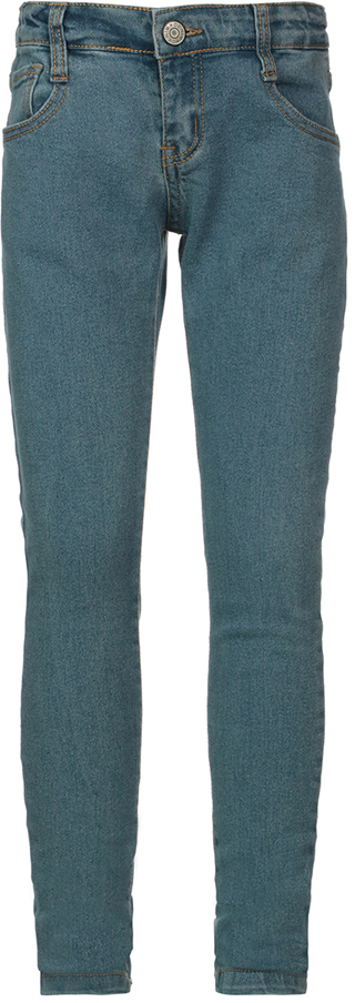 Джинсы для девочки Oldos Девис, цвет: синий. 6O8JN14-2. Размер 146, 11,5 лет6O8JN14-2Эластичные джинсы для девочки. Состав ткани 80% хлопок, 19% полиэстер, 1% эластан. Благодаря эластану и зауженному крою джинсы хорошо садятся по фигуре. Пояс на пуговице, внутренняя утяжка пояса перфорированной резинкой, шлевки для ремня, гульфик на молнии. Карманы спереди и сзади. Джинсы подходят для повседневной носки.