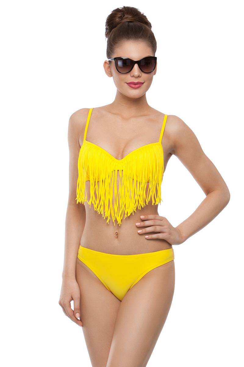 Купить Купальник раздельный женский Charmante, цвет: желтый. WDM 191804. Размер 38 (44)