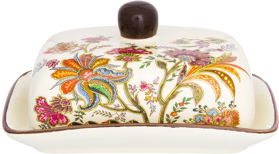 Масленка Elan Gallery выполнена и специально предназначена для хранения масла. Она сохранит его натуральный запах и насыщенный вкус при хранении в холодильнике. А на столе будет смотреться просто замечательно!