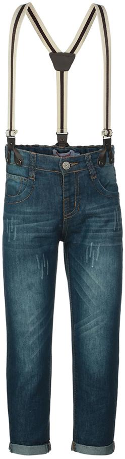Джинсы для мальчика Oldos Джеймс, цвет: темно-синий. 6O8JN10. Размер 74, 9 месяцев джинсы детские oldos брандо цвет темно синий 6o8jn01 размер 128 8 лет