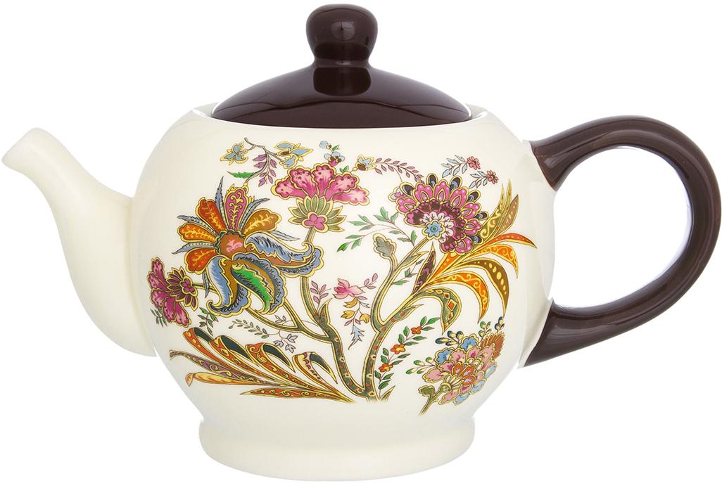 Чайник заварочный Elan Gallery Цветочная радуга, 950 мл720200Удобный и красивый чайник, несомненно, украсит собой домашнюю коллекцию посуды и станет прекрасным подарком любой хозяйке.
