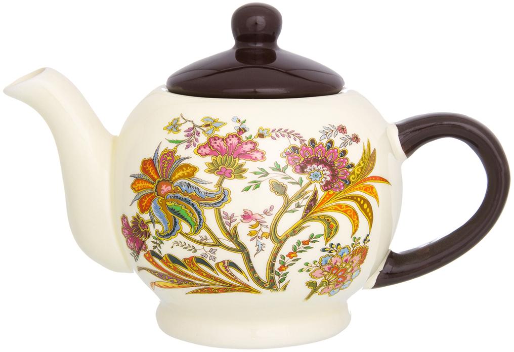 Чайник заварочный Elan Gallery Цветочная радуга, 400 мл720206Удобный и красивый чайник, несомненно, украсит собой домашнюю коллекцию посуды и станет прекрасным подарком любой хозяйке.