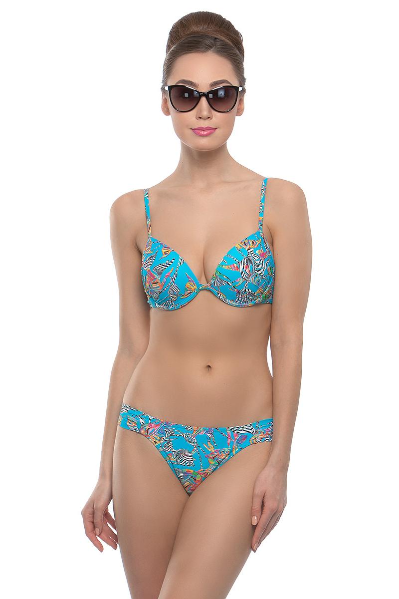 Купить Купальник раздельный женский Charmante, цвет: голубой. WDR 011802. Размер 38 (44)