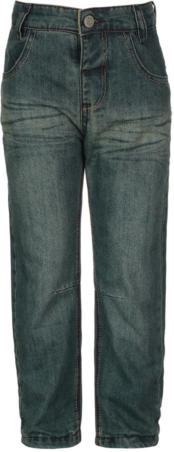 Джинсы для мальчика Oldos Ковбой, цвет: синий. 6O8JN09. Размер 68, 6 месяцев6O8JN09Стильные джинсы OLDOS изготовлены из хлопка с добавлением полиэстера. Модель имеет ворсистую подкладку из хлопка. Пояс на пуговице, внутренняя утяжка пояса перфорированной резинкой, шлевки для ремня, декоративные пуговицы на поясе, гульфик без молнии. Модель спереди дополнена двумя карманами и одним маленьким кармашком, а сзади - двумя накладными карманами. Джинсы оформлены контрастной прострочкой.