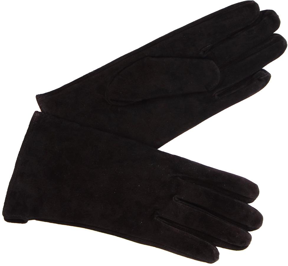 Перчатки женские Laccom, цвет: черный. 213B. Размер 7,5213BСтильные женские перчатки Laccom не только защитят ваши руки, но и станут великолепным украшением. Перчатки выполнены из натуральной кожи, они хорошо сохраняют тепло, мягкие и идеально сидят на руке.